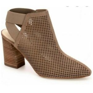 Marc Fisher Taupe Relay Ankle Booties Boho